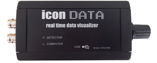 icon data d metal detector data logger